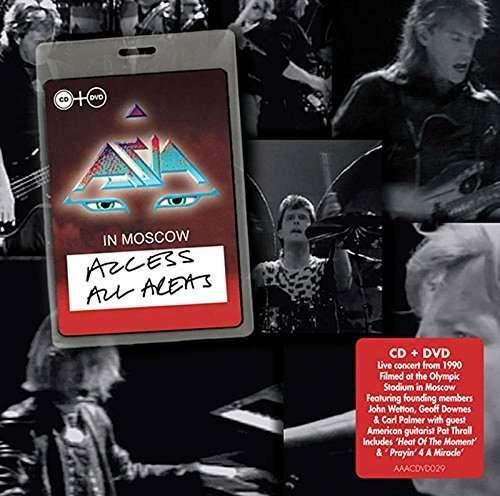 Asia - Access All Areas (Moscow)